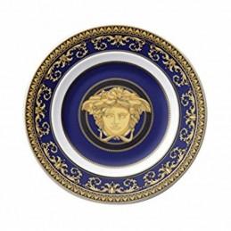 Versace Wall Plate 18 cm Medusa Blue