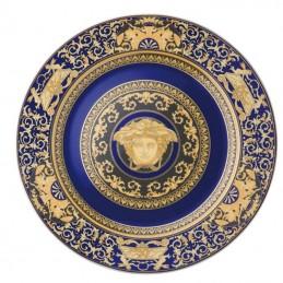 Versace Piatto Parete 30 cm Medusa Blue
