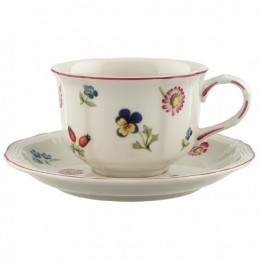 Villeroy & Boch Petite Fleur Tea Cup and Saucer Set 6 pcs