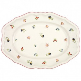 Villeroy & Boch Petite Fleur Piatto Ovale 37 cm