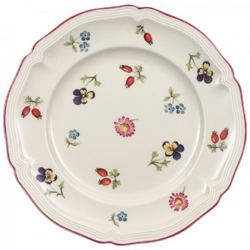 Villeroy & Boch Petite Fleur Bread Plate 17 cm Set 6 Pcs