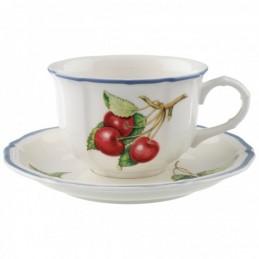 Villeroy & Boch Cottage Tazze Tè con Piattino 6 Pz