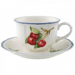 Villeroy & Boch Cottage Tea Cup and Saucer Set 6 Pcs