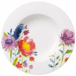 Villeroy & Boch Anmut Flowers Set 6 Piatti Fondi 24 cm