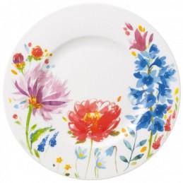 Villeroy & Boch Anmut Flowers Salad Plate 22 cm Set 6 Pcs