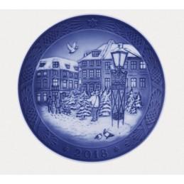 Royal Copenhagen Christmas Plate 2018
