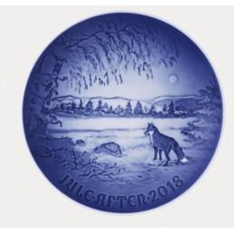 Bing & Grondahl Christmas Plate 2018