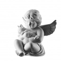 Rosenthal Angel with Cat Big