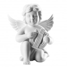 Rosenthal Angel with Lyre Big