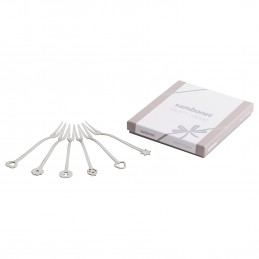 Sambonet Portafortuna Set 6 Party Forks