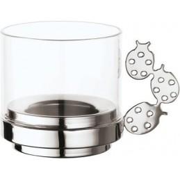 Sambonet Candle Holder with Glass Ladybird 56533-11