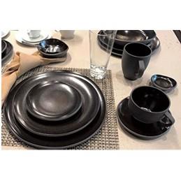 Rosenthal Junto Dinnerware Set 18 Pcs Slate Grey Gres