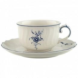 Villeroy & Boch Vieux Luxembourg Set 6 Tazze Tè con Piattino