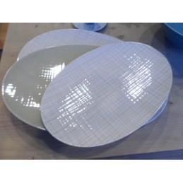 Rosenthal Mesh Oval Platters Set 3 Pcs