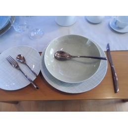 Rosenthal Mesh Cream Dishes Dinnerware 18 Pcs