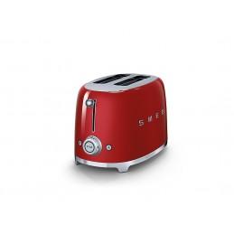 Smeg 2 Slice Toaster Red TTSF01RDEU