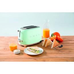 Smeg 2 Slice Toaster Pastel Green TSF01PGEU