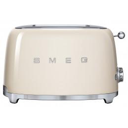Smeg 2 Slice Toaster Cream TSF01CREU