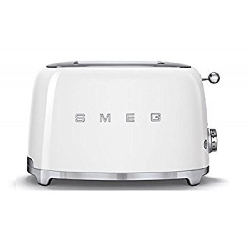 Smeg 2 Slice Toaster White TSF02WHEU