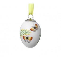 Royal Copenhagen Easter Egg Yellow Butterflies 1024782