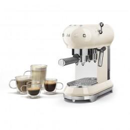 Smeg Espresso Coffee Machine Cream