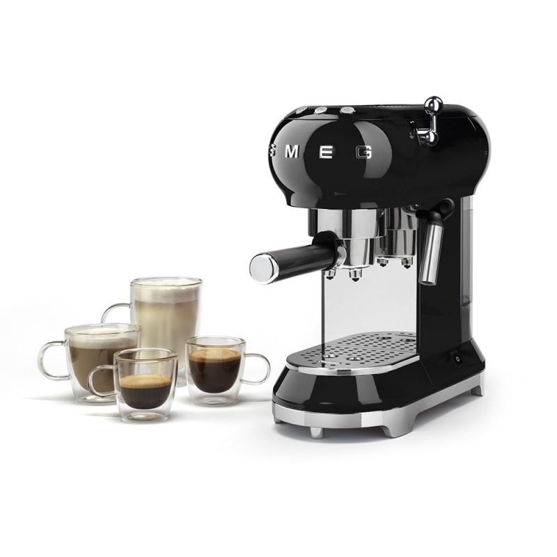 Smeg Macchina Caffè Espresso Nera