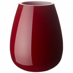 Villeroy & Boch Drop Small Vase Deep Cherry