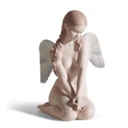 Lladrò Statua Angelo Bello 01018235