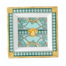 Versace La Scala del Palazzo-Green Dish 22 cm
