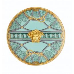 Versace Rosenthal Piatto Piano 17 cm La Scala del Palazzo - Verde
