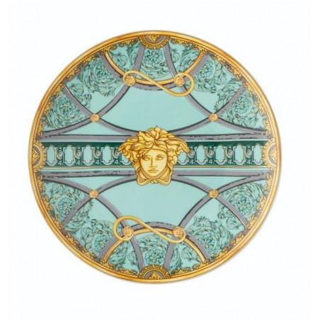 Versace Piatto Piano 17 cm La Scala del Palazzo - Verde