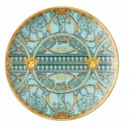 Versace La Scala del Palazzo-Green Plate 21 cm