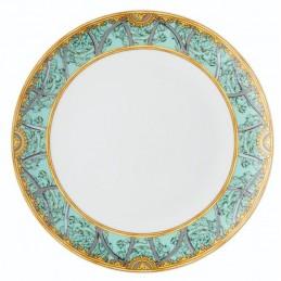 Versace La Scala del Palazzo-Green Plate 28 cm