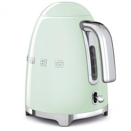 Smeg Bollitore Elettrico Logo 3D Verde Estetica Anni 50