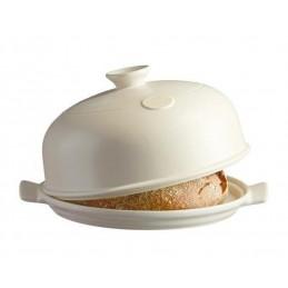Emile Henry Bread Cloche White Linen EH509108