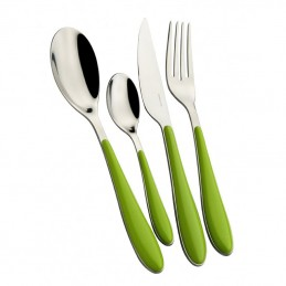 Bugatti Cutlery Gioia 24 Pcs Apple Green