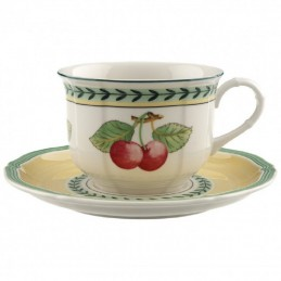 Villeroy & Boch French Garden Fleurence Cappuccino Cup Set 6 Pcs