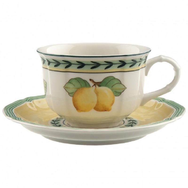 Villeroy U0026amp; Boch French Garden Fleurence Tea Cup Set ...