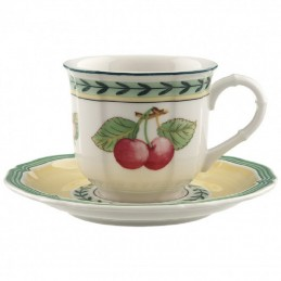 Villeroy & Boch French Garden Fleurence Espresso Cup Set 6 Pcs