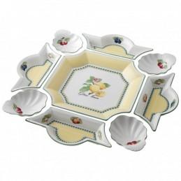 Villeroy & Boch French Garden Fleurence Antipasti Set 9 Pcs