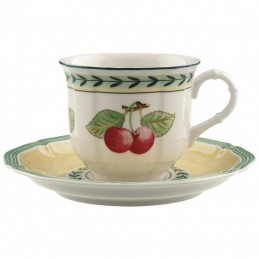 Villeroy & Boch French Garden Fleurence Coffee Cup Set 6 Pcs