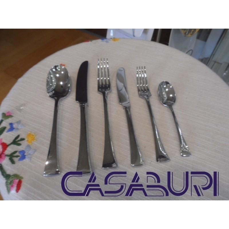 Sambonet Triennale Servizio Posate 36 Pz manico cavo orfèvre 52505-84