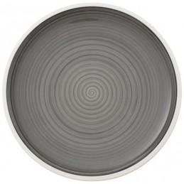Villeroy & Boch Manufacture Gris Dinner Plate 27 cm Set 6 Pcs