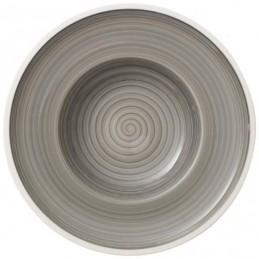 Villeroy & Boch Manufacture Gris Soup Plate 25 cm Set 6 Pcs