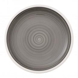 Villeroy & Boch Manufacture Gris Dessert Plate 22 cm Set 6 Pcs