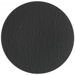 Villeroy & Boch Manufacture Rock Black Pizza Plate 32 cm