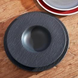 Villeroy & Boch Manufacture Rock Piatto Pasta 29 cm Nero