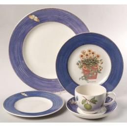 Wedgwood Sarah's Garden Dinner Set 18 Pcs Blue