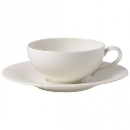 Villeroy & Boch New Cottage Basic Set 6 Tea Cups with Saucers