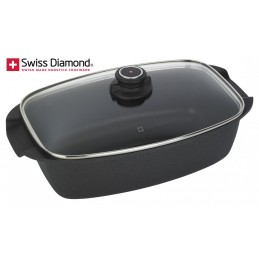 Swiss Diamond Non Stick Roaster with Lid SD 61033D